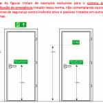 Exemplo de Instalação de Sinalização – Conforme NBR-1