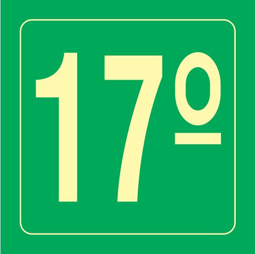 Placa S17 - 17
