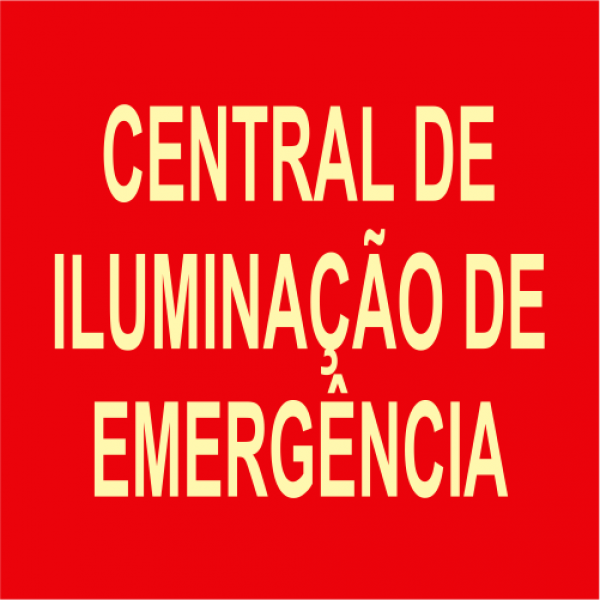 Placas Fotoluminescentes CIE - 20x20cm