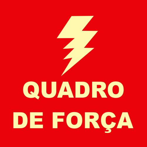 Placas Fotoluminescentes QF - 21x21cm