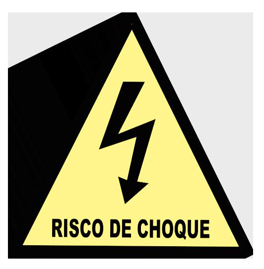 Risco de Choque A5 - 21x21x21cm