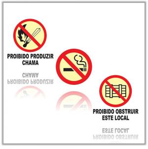 Placas de Proibição